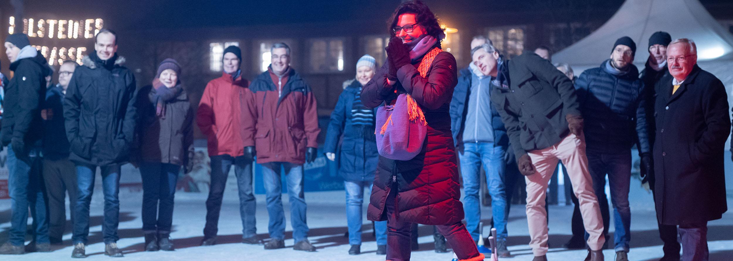 01. Dezember 2019 – CDU Eisstockschießen